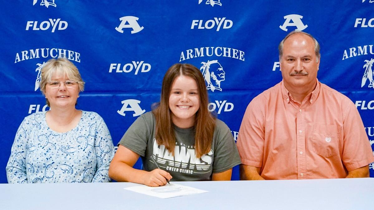 Armuchee senior Lori Hayes signs with Shorter University