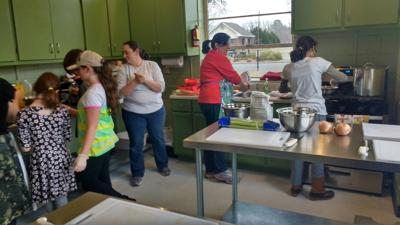 Rockmart Farmers Market cooking class - February 2018
