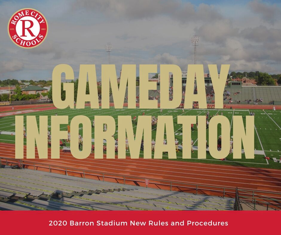 Barron Stadium 2020 Procedures