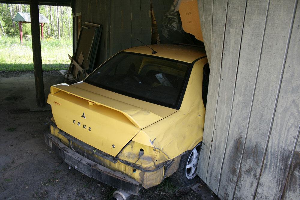 Depot Street wreck