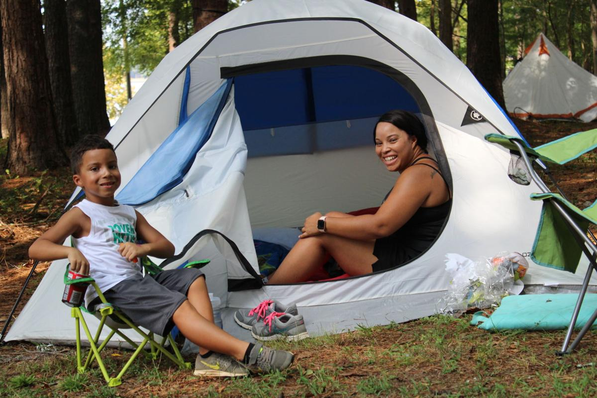 mom-son campout 1