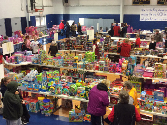 Stocking Full of Love toy giveaway