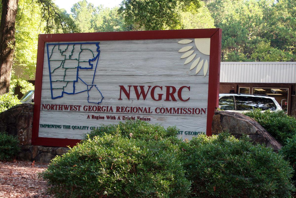 Northwest Georgia Regional Commission sign NWGA