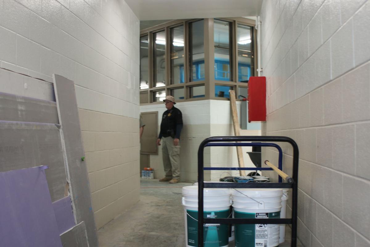 Floyd County Jail construction