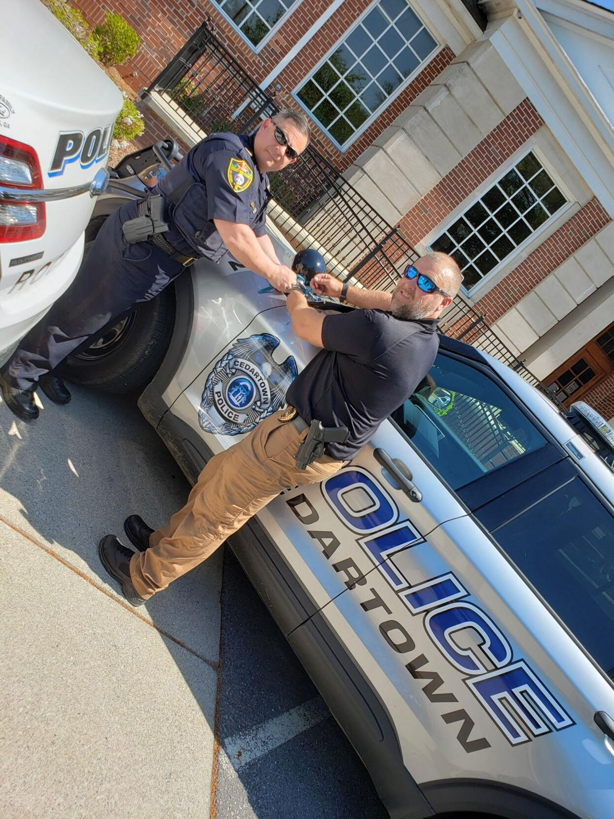Local law enforcement show support for sexual assault survivors