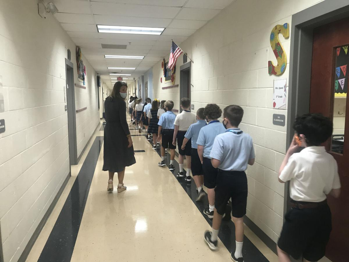 St. Mary's starts back to school