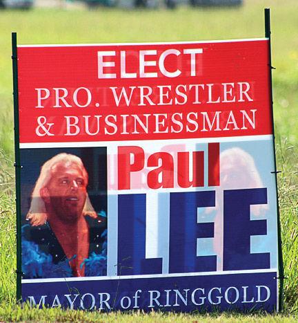 Paul Lee seeking mayor's post