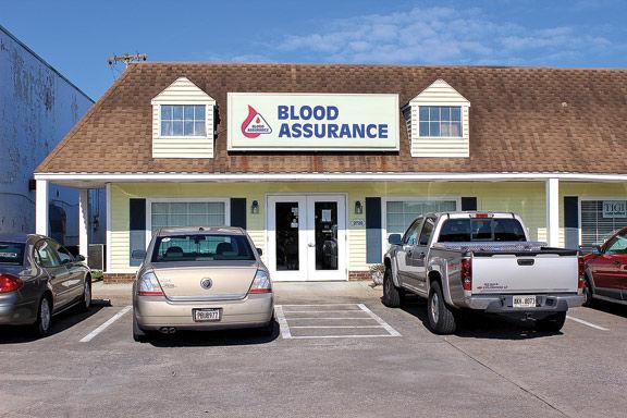Blood Assurance donation center in Fort Oglethorpe