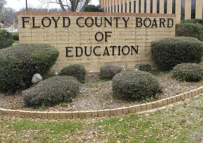 Floyd County Board of Education BOE Sign