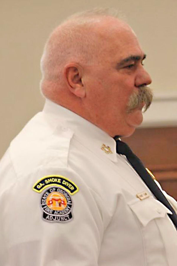Catoosa Counthy Fire Chief Randy Camp