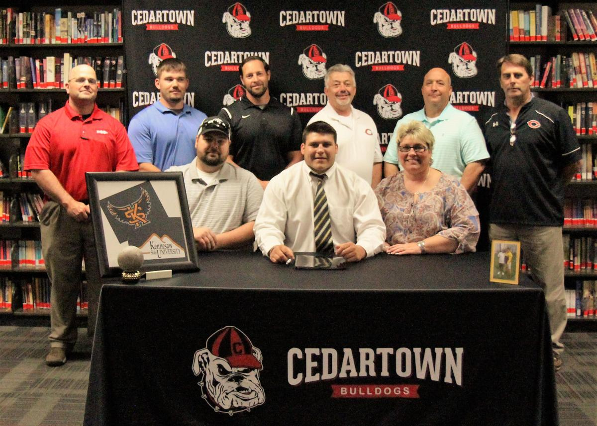 Tyler Blalock signs with Kennesaw State