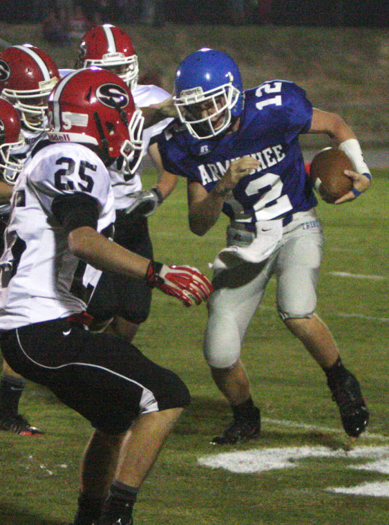 Football: Armuchee v. Sonoraville scrimmage