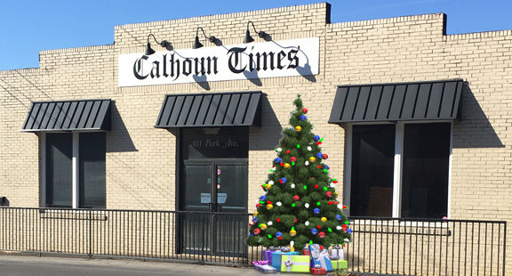 'Twas the Night Before Christmas at the Calhoun Times - The 2017 Editorial Version