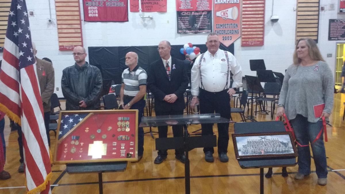 CMS honors veterans