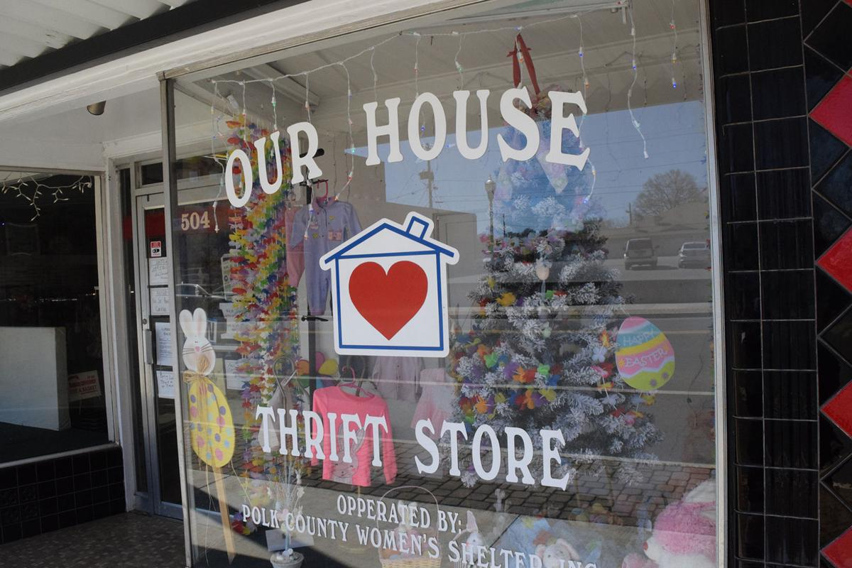 Our House Thrift Store, March 2018