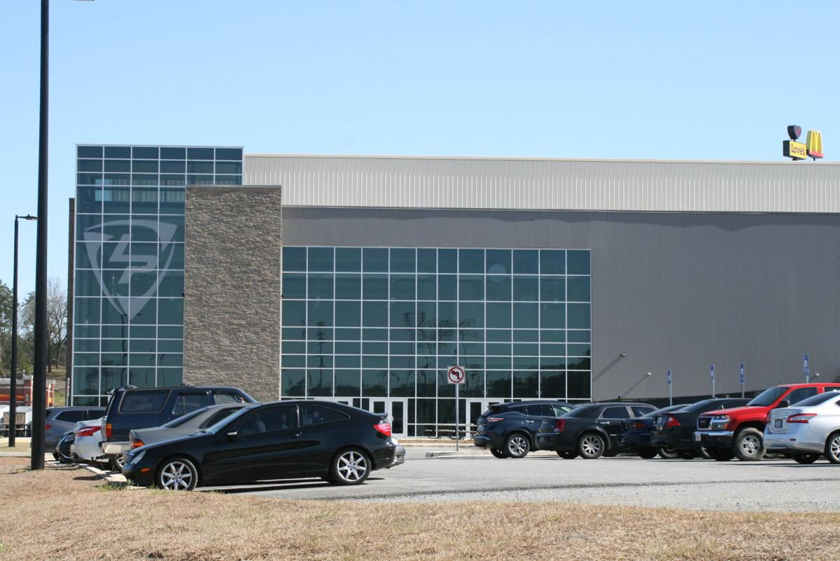 The Champions Center, indoor pavilion at LakePoint near Emerson.