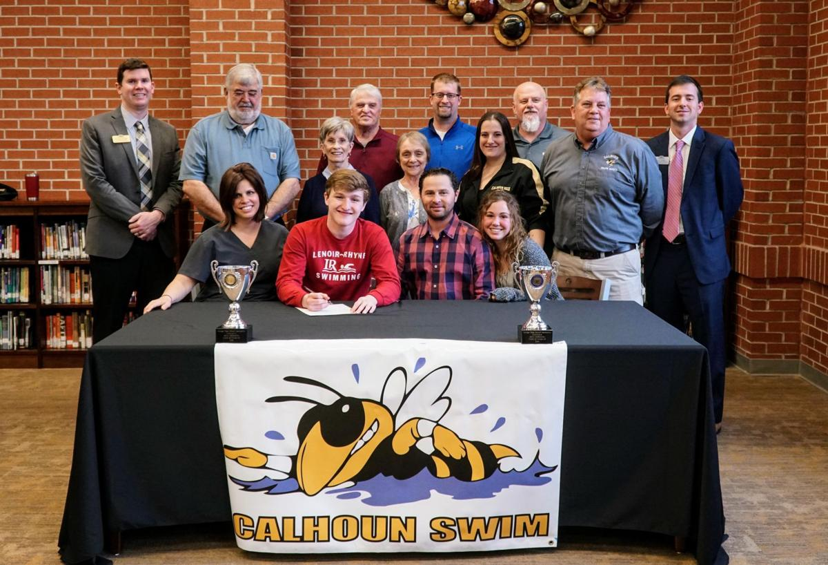 Carroll Signs to Swim with the Bears | The Calhoun Times ...