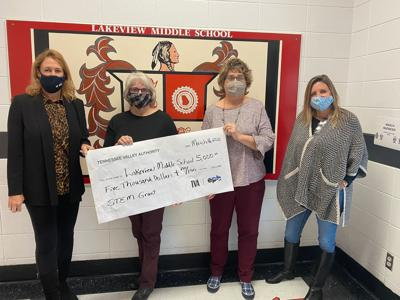 TVA grant for Lakeview Middle School