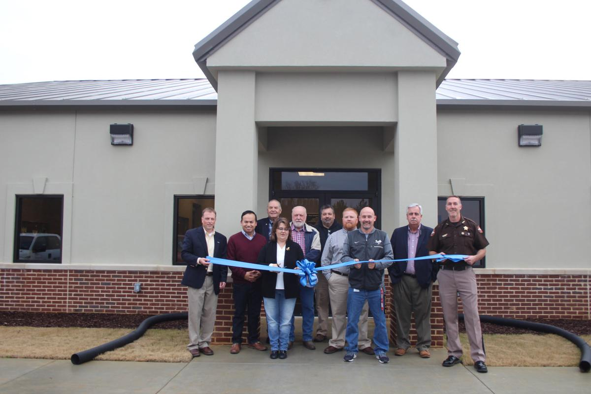 Officials celebrate Public Works facility with ribbon cutting