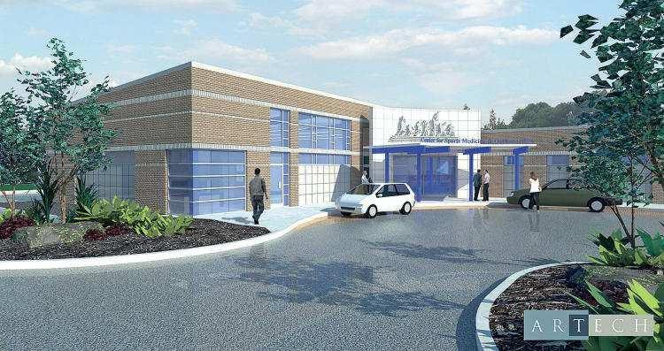 Officials break ground on new sports medicine facility in Ringgold
