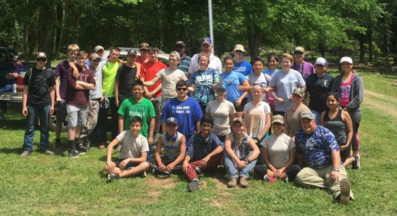 Local JROTC, NHS join forces for cemetery clean-up