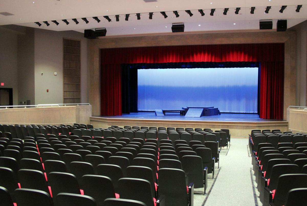 New CHS fine arts building is officially opened with performance
