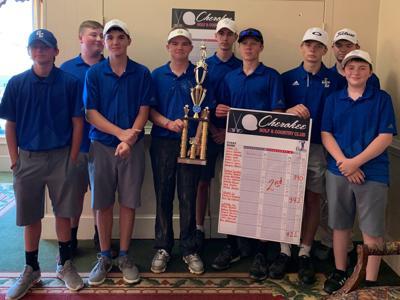 Gordon Central boys golf advances to state tournament