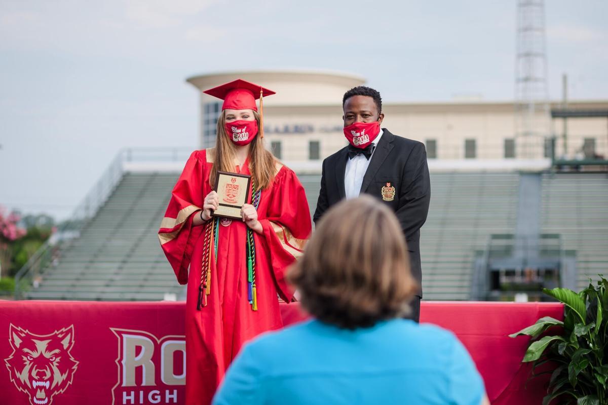 Rome High School grads get in-person ceremony at Barron Stadium