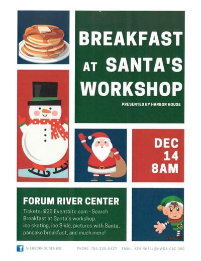 breakfast at santa's workshop
