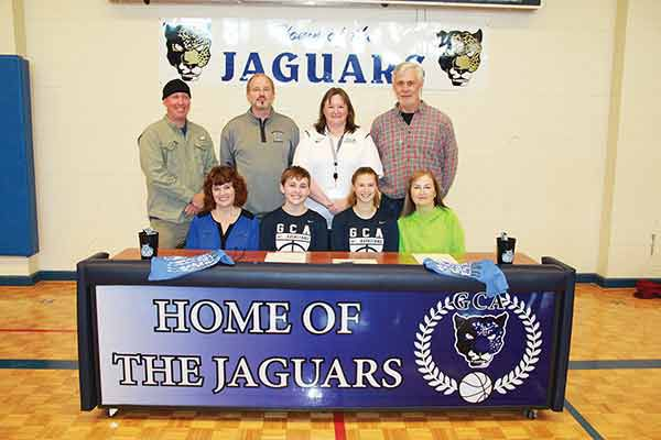 Lady Bobcats sign pair from GCA