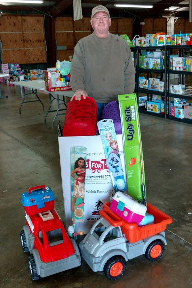 TU Toys for Tots drive