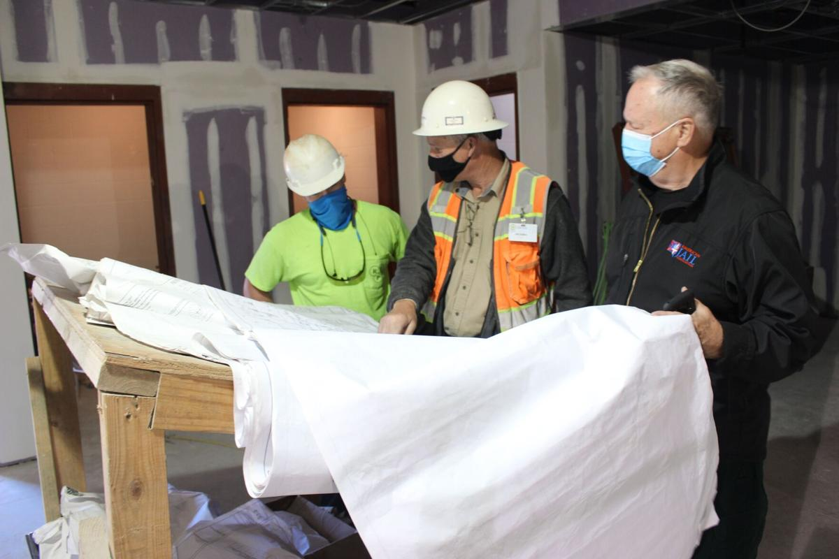 Floyd County Jail medical wing renovation expected to be ready end of November