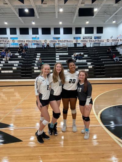 Coosa Volleyball 2020 seniors