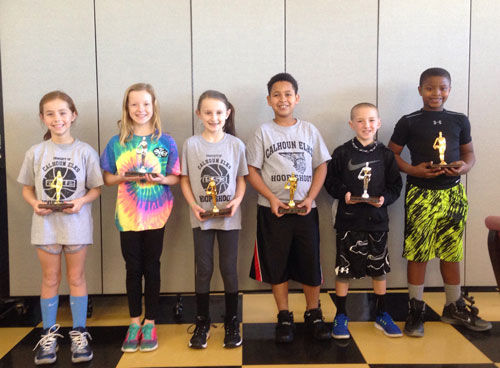 Elks Hoop Shoot 8-9 winners