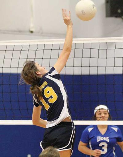 VOLLEYBALL: Lady Eagles finish fourth at SCAA tournament