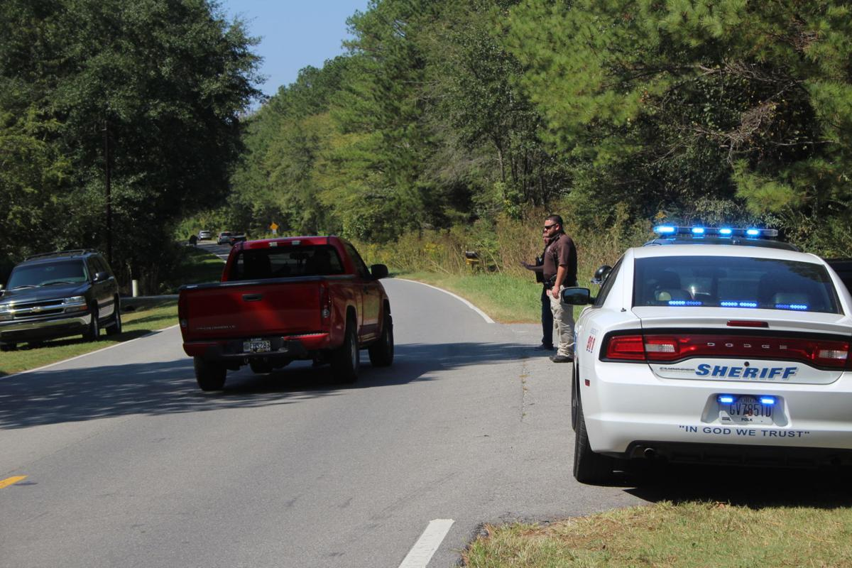 Search for shooting suspect in Polk County