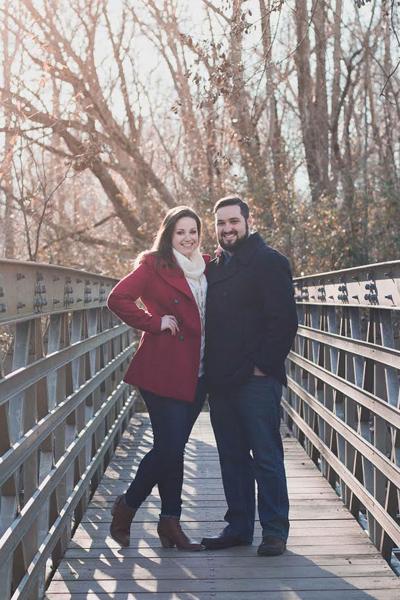 Miranda Jaynes and Joshua Childers