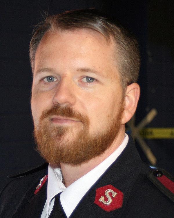 Salvation Army Capt.Jason Smith