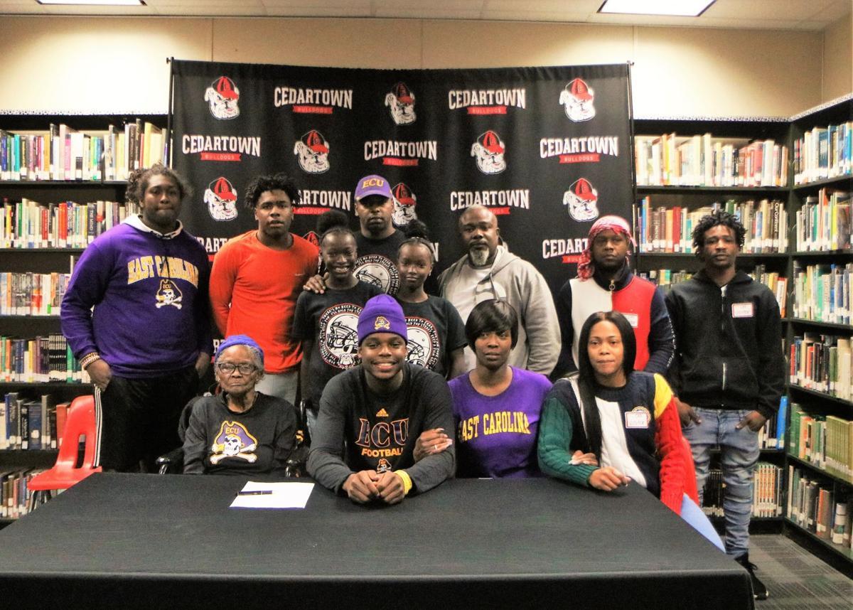 Taji Hudson signs with East Carolina