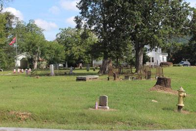 Cemetery fencing Ringgold