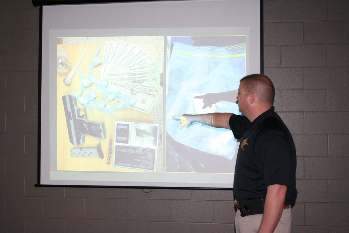 DEPUTY EDMONDSON CONDUCTS TRAINING