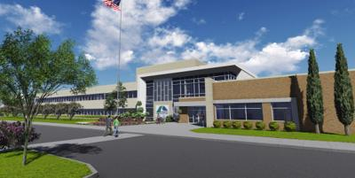 Artist's drawing of NWTC Catoosa campus