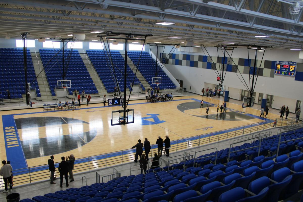 Armuchee High's gym opened on Friday