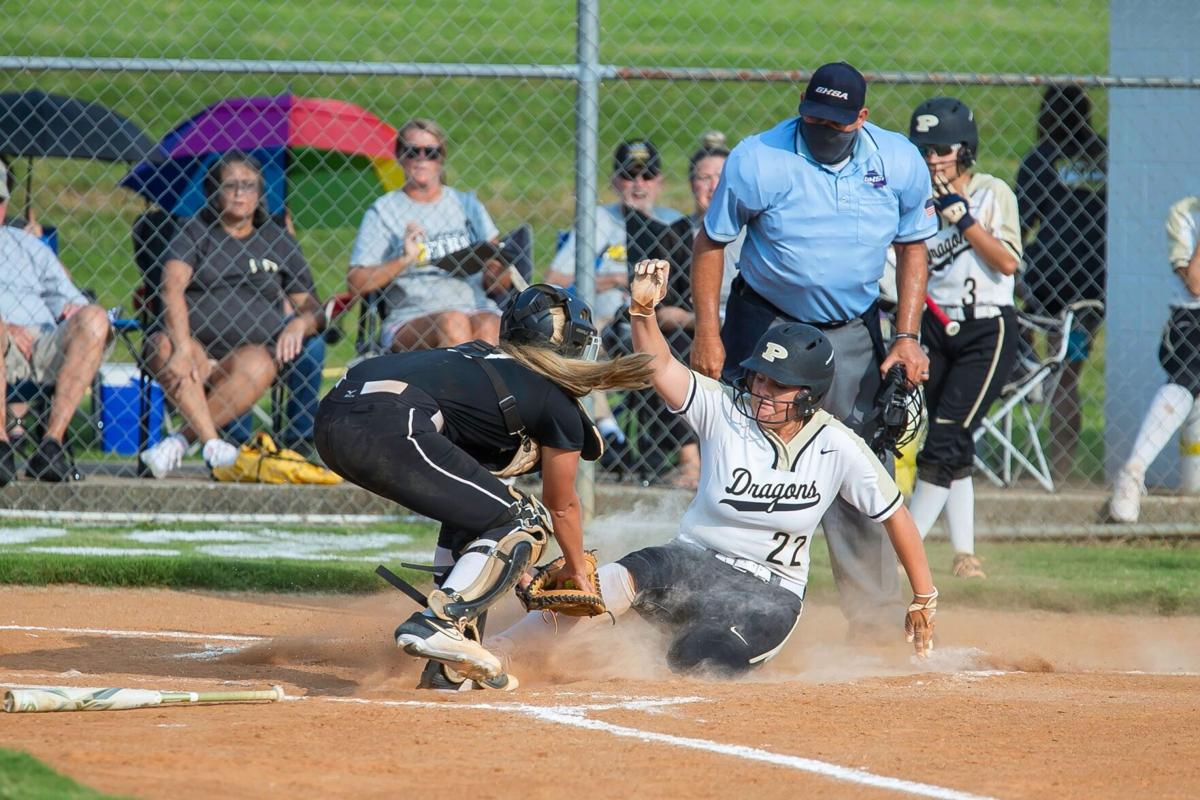 Coosa vs. Pepperell Softball