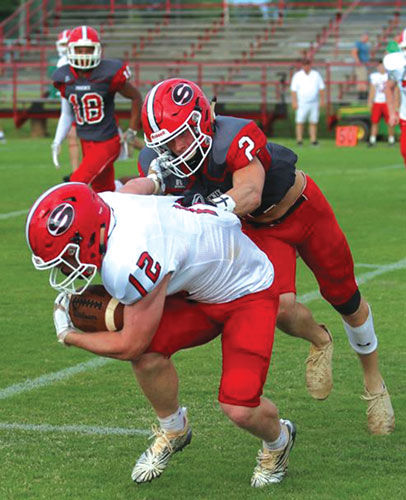 Sonoraville's Kobe McEntyre and Case Collins