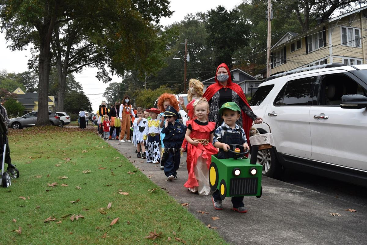 Rome First School costume parade