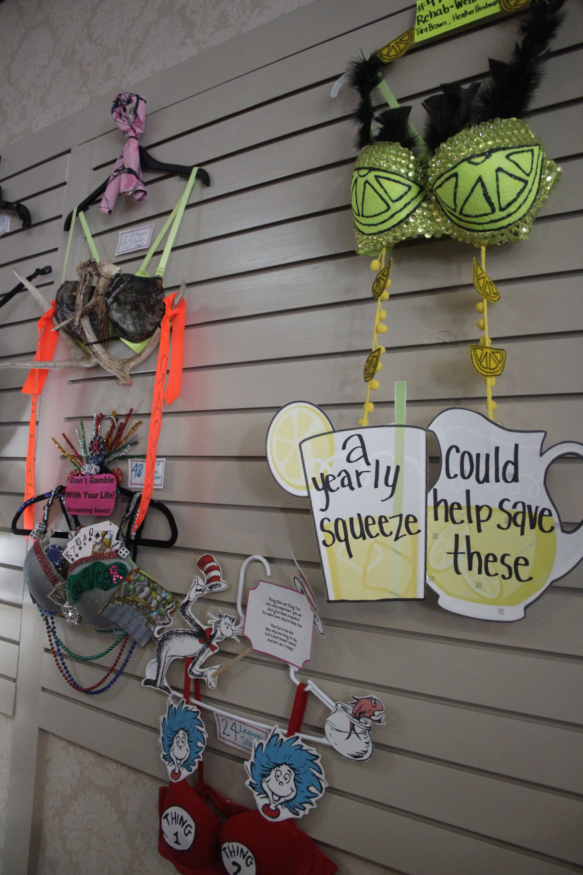 Bras For A Cause Takes Over Holmes For Her Local