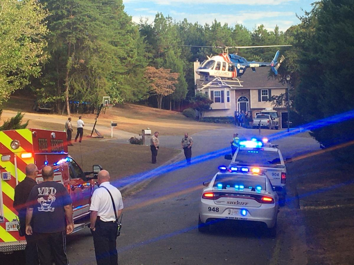 Individual life-flighted from Adairsville subdivision