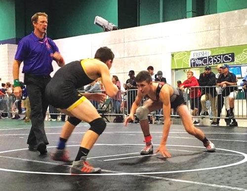 Tyler Hunt at Super 32 Tournament