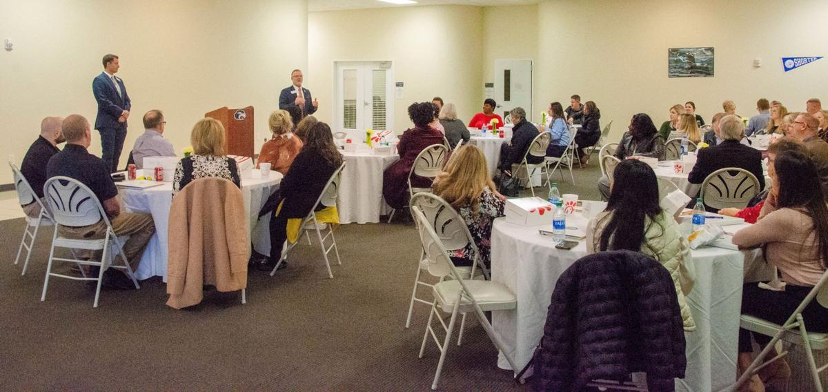 Shorter hosts HR lunch and learn session for local businesses